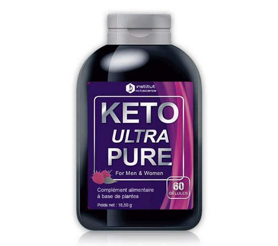 Keto Ultra Pure complément alimentaire à base de plantes