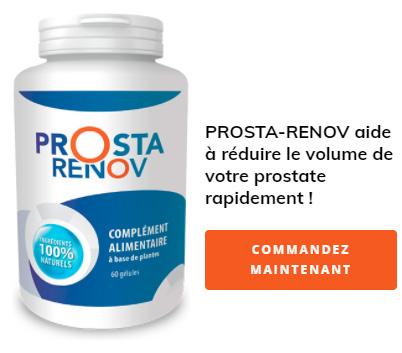 PROSTA-RENOV aide à réduire le volume de votre prostate rapidement !